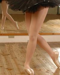 Колготки для танцев матовые детские 40 DEN