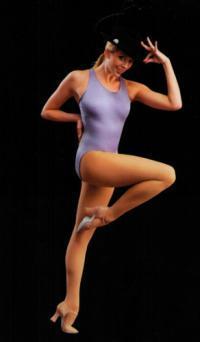 Колготки Pridance для танцев матовые женские 60 DEN 3D